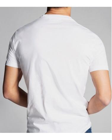 Dsquared2 Camiseta Logo 25 modelo espalda