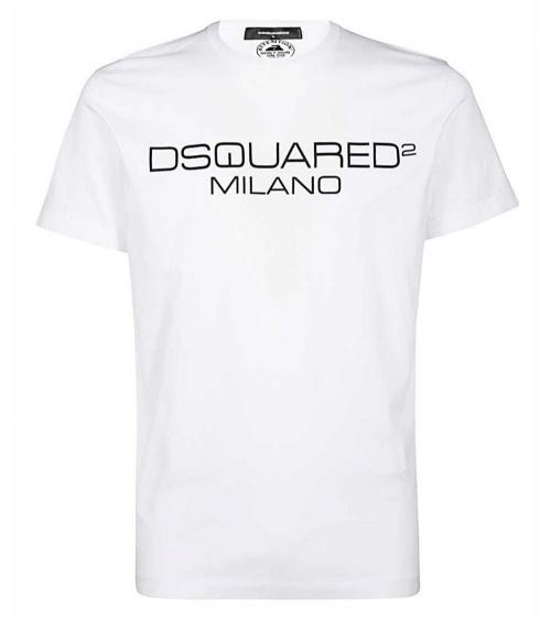 Camiseta Logo Milano Dsquared2