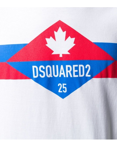 Dsquared2 Camiseta Logo 25 detalle