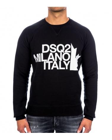 Dsquared2 Sudadera Negra Milano