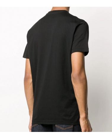 Dsquared2 Camiseta Marino Geometric espalda