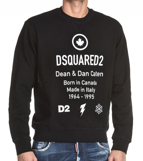 Dsquared2 Sudadera Dean Dan modelo frontal