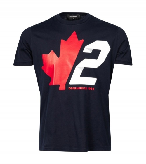 Dsquared2 Camiseta Marino Canadian