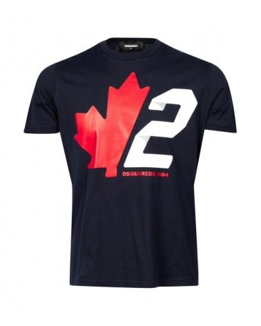 Dsquared2 Camiseta Marino Canadian