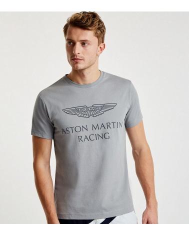 Hackett London Camiseta Aston Martin Gris modelo