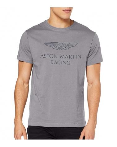 Hackett London Camiseta Aston Martin Gris