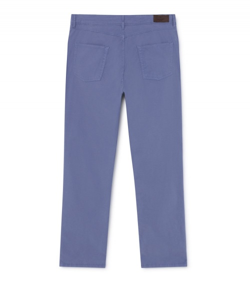Hackett London Pantalón Pockets Azul detrás