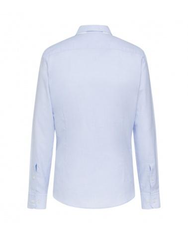 Hackett London Camisa Micro Rayas espalda