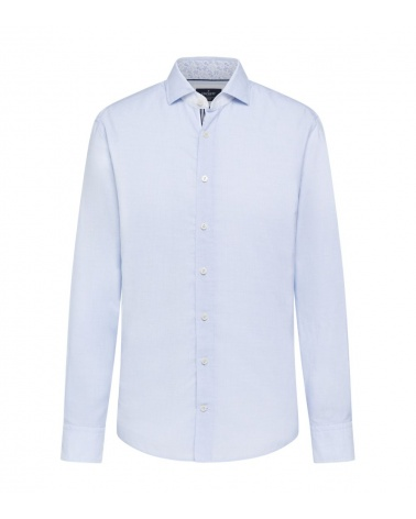 Hackett London Camisa Micro Rayas