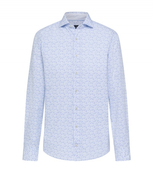 Hackett London Camisa Summer Blanca