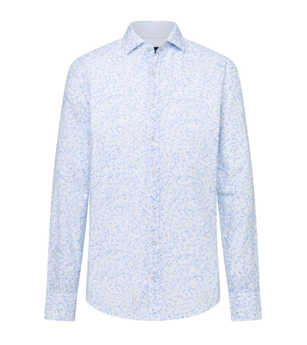 Hackett London Camisa Lino Floral