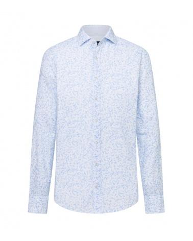 Hackett London Camisa Lino Floral