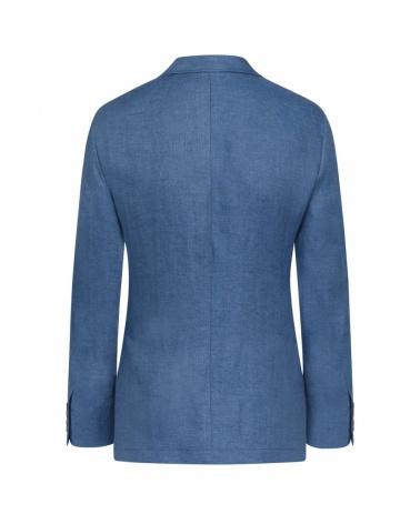 Hackett London Americana Lino Azul detrás