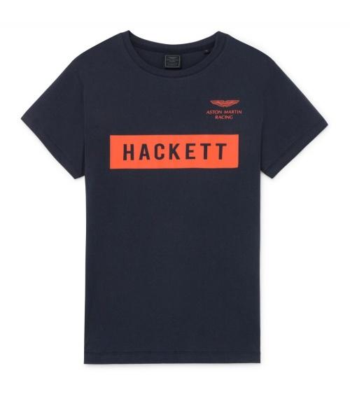 Hackett London Camiseta Navy Logo