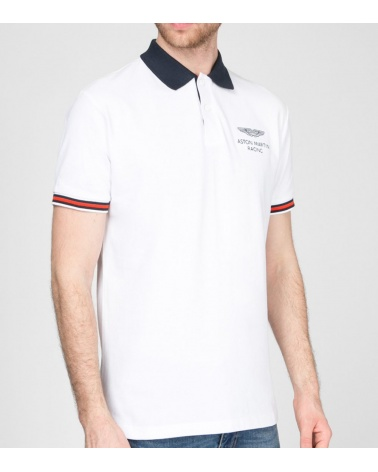 Hackett London Polo Blanco Aston Martin modelo