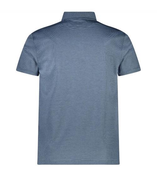 Hackett London Polo Vestir Blue detrás