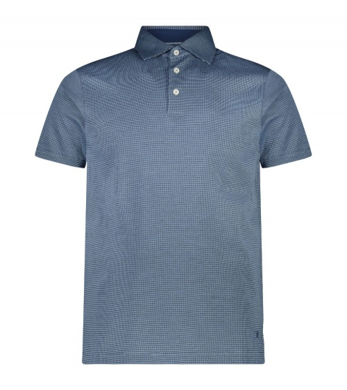 Hackett London Polo Vestir Blue