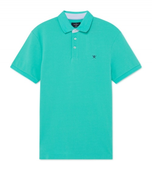 Hackett London Polo Básico Menta