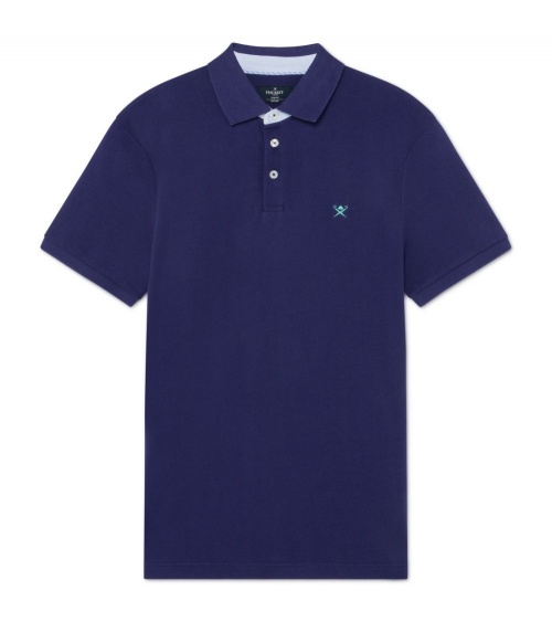Hackett London Polo Básico Marino