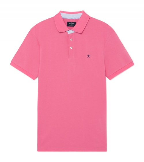 Hackett London Polo Básico Rosa