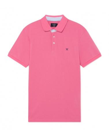 Hackett London Polo Básico Rosa