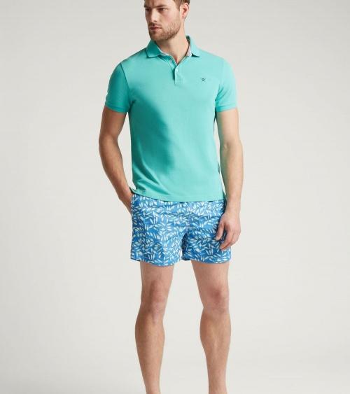 Hackett London Bañador Azul Peces modelo look