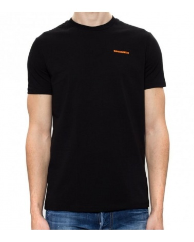Camiseta Logo Orange Dsquared2