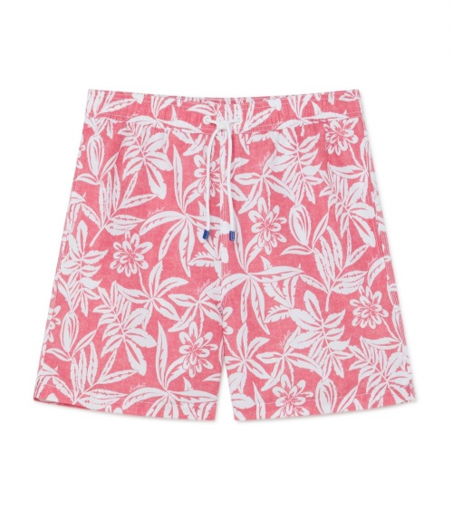 Hackett London Bañador Flores Hibisco