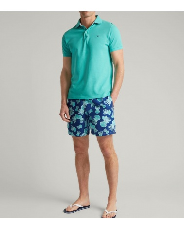 Hackett London Bañador Medusas modelo look