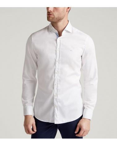 Hackett London Camisa Oxford Blanca modelo