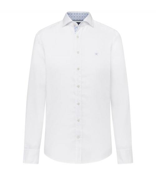 Hackett London Camisa Oxford Blanca