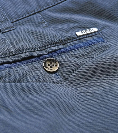 Meyer Pantalón Chicago Blue bolsillo