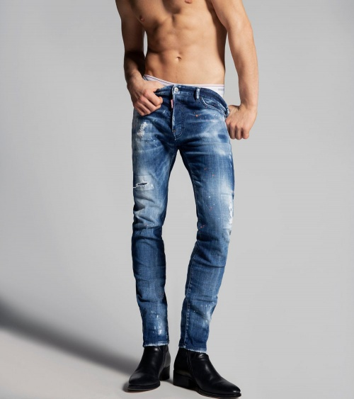 Dsquared2 Jeans Skinny Orange modelo