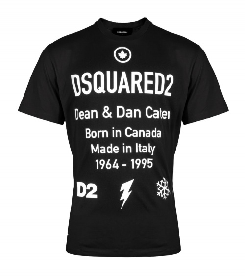 Dsquared2 Camiseta Black D2