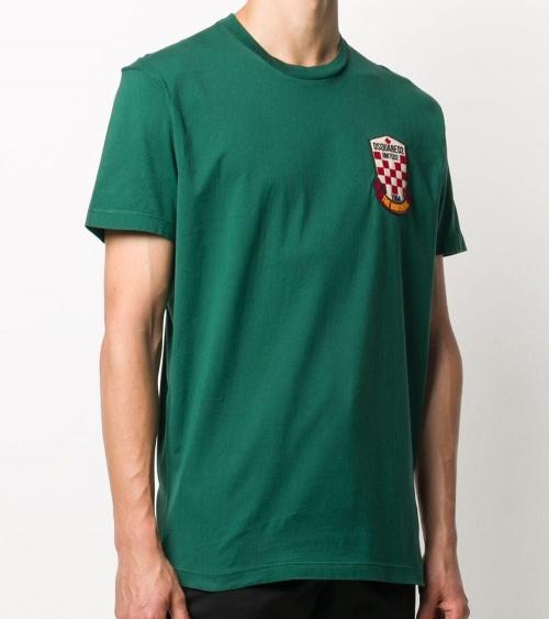 Dsquared2 Camiseta Green United2 modelo
