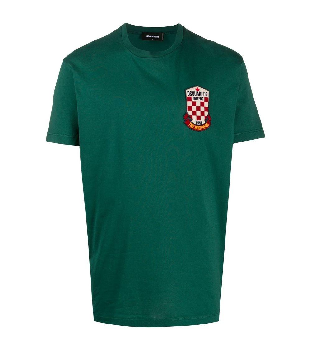 Dsquared2 Camiseta Green United2