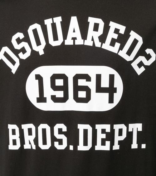 Dsquared2 Camiseta Black 1964 detalle