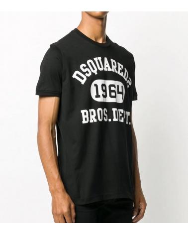 Dsquared2 Camiseta Black 1964 modelo