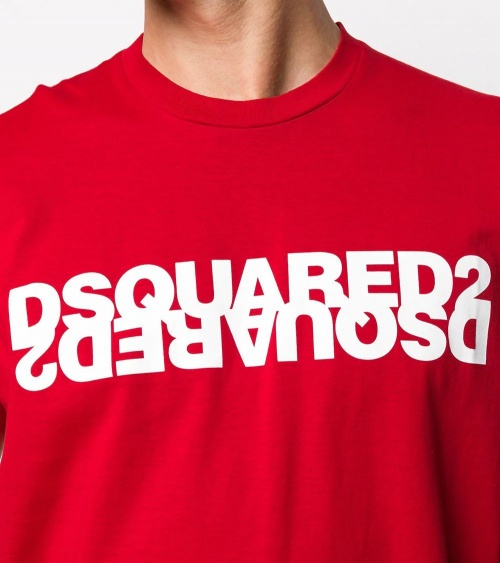 Dsquared2 Camiseta Red Inverse detalle