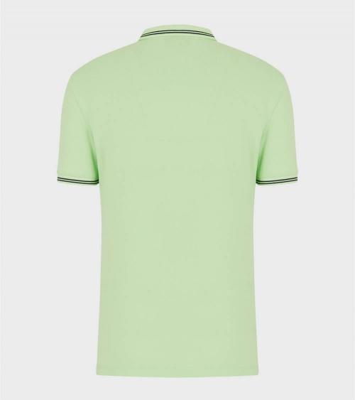 Emporio Armani Polo Fluor Verde espalda