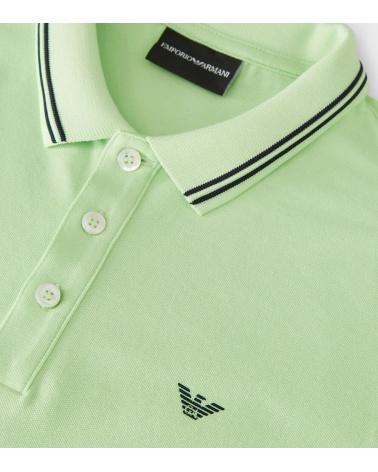 Emporio Armani Polo Fluor Verde logo