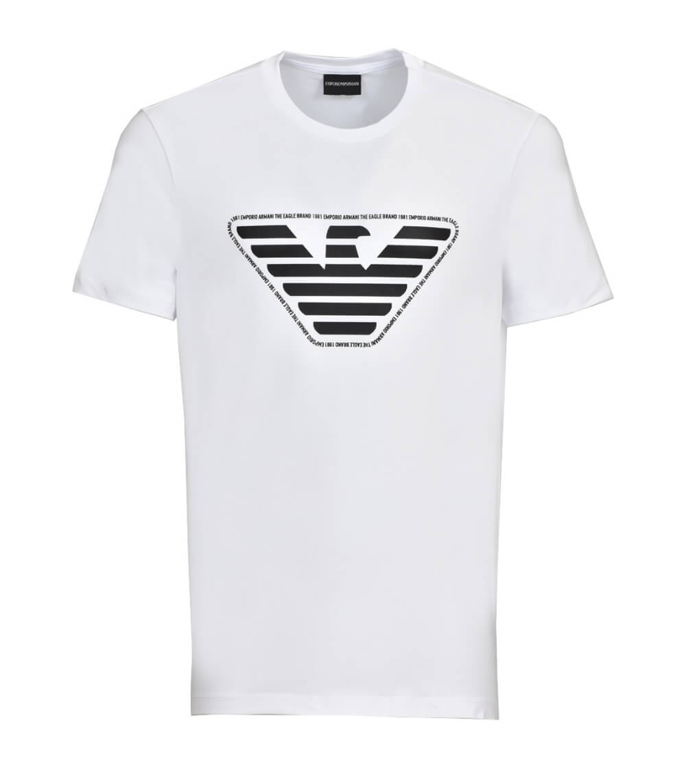 Emporio Armani Camiseta Blanca Eagle