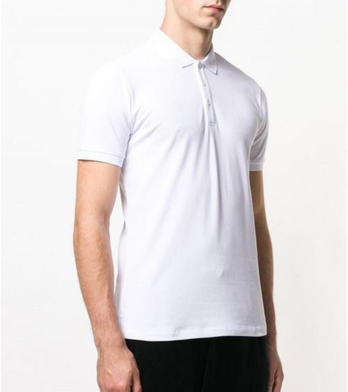 Emporio Armani Polo Blanco Liso modelo