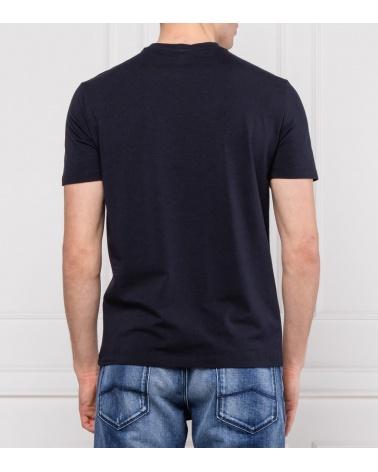 Emporio Armani Camiseta Marino Ciudades modelo espalda