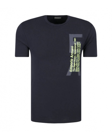 Emporio Armani Camiseta Marino Ciudades