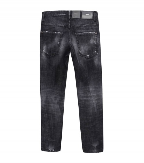 Dsquared2 Jeans Black 1964 detrás