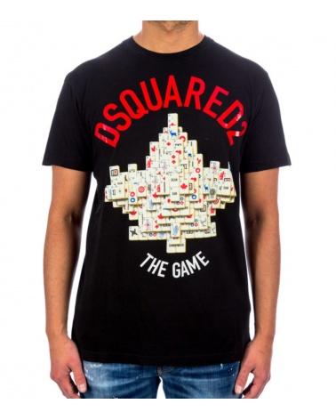 Dsquared2 Camiseta Mahjong
