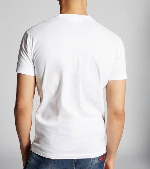 Dsquared2 Camiseta Chupachups Montaña modelo espalda