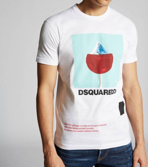 Dsquared2 Camiseta Chupachups Montaña modelo