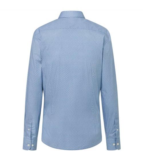 Hackett London Camisa Avio Geo Print espalda